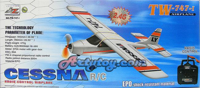 เครื่องบินบังคับ 4CH EPO 2.4GHz CESSNA  TW-747-I (UTBN)