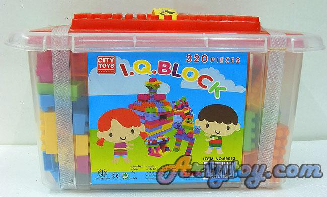 บล็อกตัวต่อกล่องเล็ก จำนวน 320 ชิ้น(FNB)