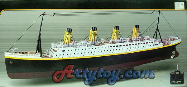 ไททานิก(Titanic) สุดยอดเรือสำราญในตำนาน  มาในรูปแบบโมเดลบังคับวิทยุสุดหรู มีไฟสวยงาม(FUTN)