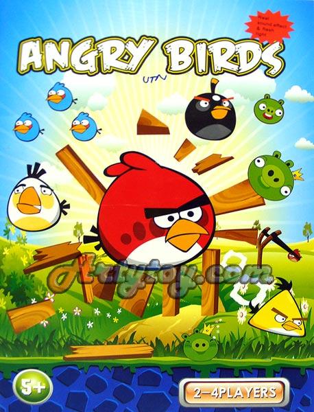 Angry Bird ชุดเล็ก มาในรูปแบบของจริง สามารถจัดฉาก และเล่นได้และ มีเสียงเหมือนในเกม