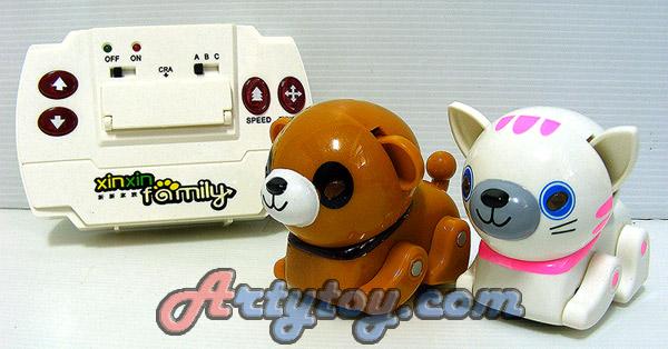 IR-Mini PET(UIN) สัตว์เลี้ยงไฮเทค น่ารักบังคับได้  มีทั้งหมด 6 แบบ แถมลูกบอล 1 ลูก ให้เล่นแย่งกัน