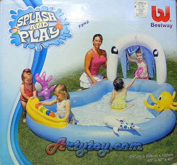 สระน้ำเป่าลมแฟนซี SplashPlay No.1(FINB)