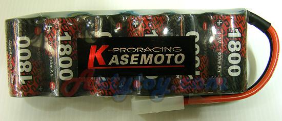 แบตเตอรี่รถไฟฟ้า Kasemoto 1,800 mAh ของแท้(ITN)