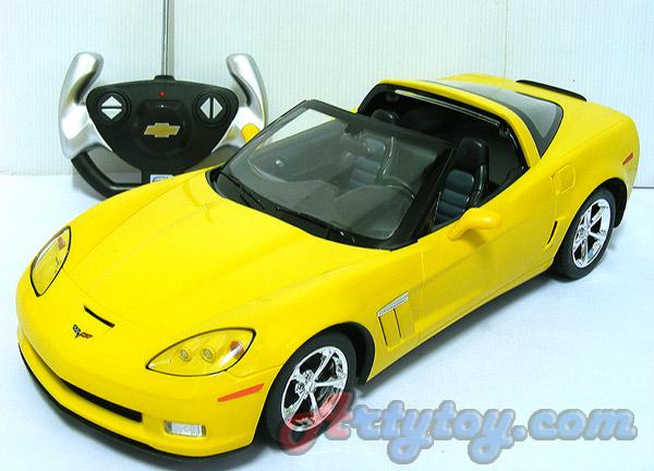 รถสปอร์ตบังคับ Chevrolet Corvette C6GS  Scale 1:14 (TJN) สวยสมจริงทั้งภายนอกและภายในรถ