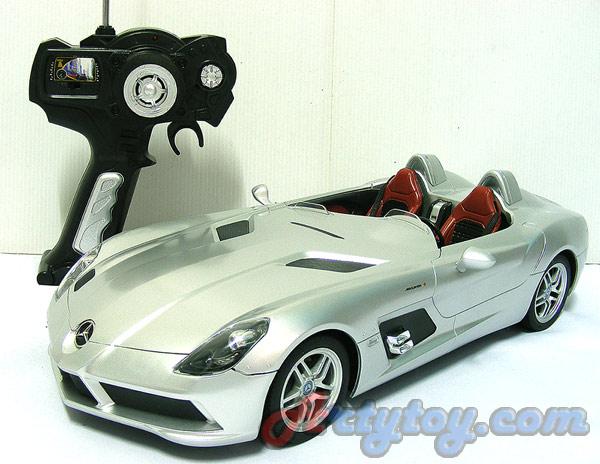 รถสปอร์ตเปิดประทุน Mercedes-Benz SLR McLaren (Z199) Scale 1:14 (TUN) สวยสมจริงทั้งภายนอกและภายในรถ