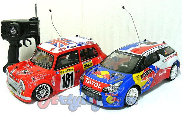 Mini Racer Drift (JUN) รถบังคับดริฟท์ โครงอ่อนสไตล์ มินิ Scale 1:14 (JUN)