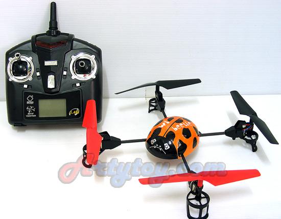 WL- V929 Mini UFO Beetle 4-axis Quad copter (FNJN)  คอปเตอร์แมลงเต่าทอง 4 CH 2.4GHz