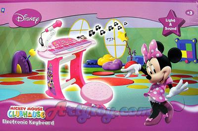 มินนี่เมาส์ Electronic Keyboard (TIN)  ของแท้จาก Disney