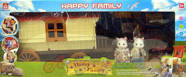 บ้านตุ๊กตาหรรษา Happy Family (IEN) ชุด บ้านรถม้า
