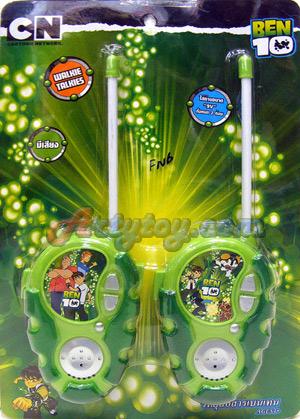 Walkie Talkie BEN10 (FNB) สินค้าลิขสิทธิ๋์แท้ สามารถคุยเล่นได้จริง