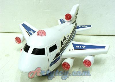 PLANE Air Flow Top(ZAN) เครื่องบินลำสวย ใส่ถ่าน วิ่งชนถอย มีไฟ เปิดประตูเครื่องบินได้