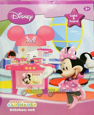 ชุดครัวMinnie จาก Mickey Mouse Club House (INB) เล่นทำครับได้สนุก อุปกรณ์ครบเซ็ต