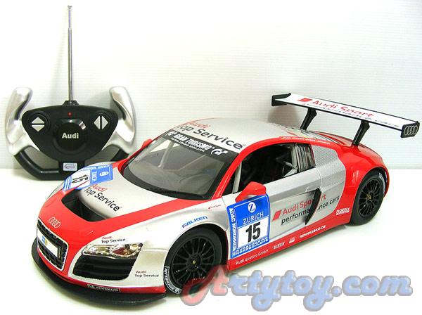 รถแข่งสปอร์ต Audi R8 LMS Scale 1:14 (TJN) สวยสมจริงทั้งภายนอกและภายในรถ