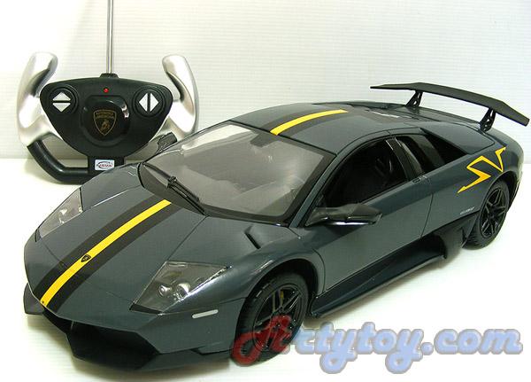 รถสปอร์ต Murcie\'lago LP670-4 Superveloce China Limited Edition Scale 1:14 (TFN)