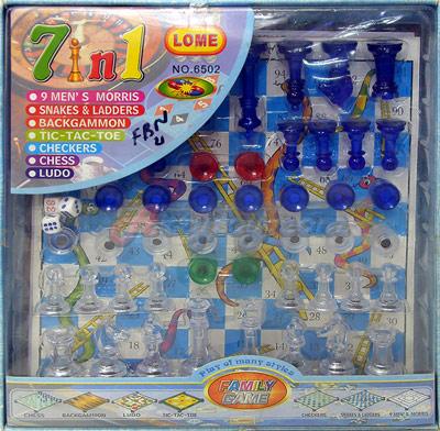 เกมกระดาน 7 in 1 (FBN)