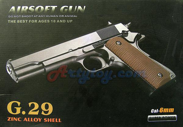 Airsoft Gun รุ่น G29 ทำจากโลหะ Zinc Alloy