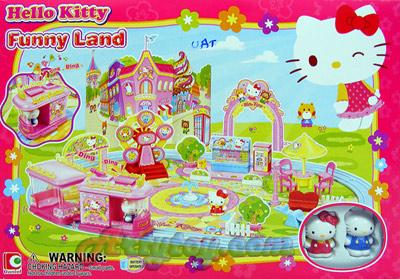Hello Kitty ชุด Funny Land 50042 (UAT)