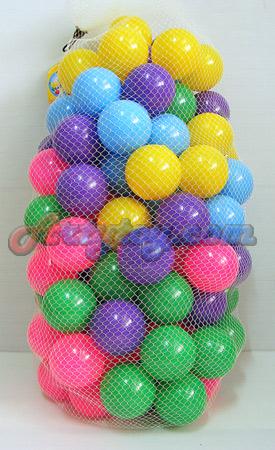 ลูกบอล 100 ลูก (FEN) ขนาด 2.8 นิ้ว หลากสี