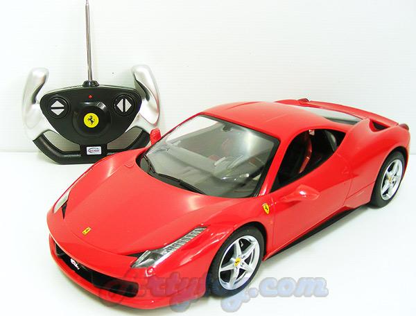รถซุปเปอร์คาร์ เฟอรารี่  458-Italia  Scale 1:14 (TBT) สวยสมจริงทั้งภายนอกและภายในรถ