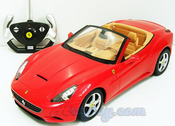 รถซุปเปอร์คาร์ Ferari California เปิดประทุน Scale 1:14 (TBT) สวยสมจริงทั้งภายนอกและภายในรถ