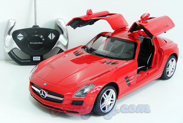 รถสปอร์ต Mercedes-Benz SLS AMG Scale 1:14 (TJN) สวยสมจริงทั้งภายนอกและภายในรถ