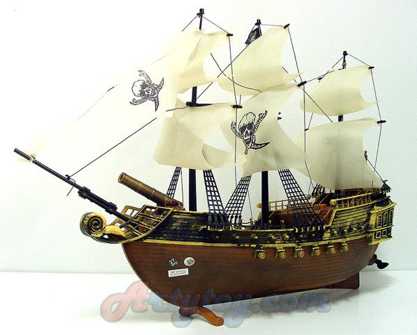 Pirate RC Ship (ZAJN)เรือโจรสลัดบังคับวิทยุลำสวยขนาดใหญ่ 45 ซม. แบตชาร์ตไฟบ้าน เล่นได้ตั้งโชว์ได้ไม่