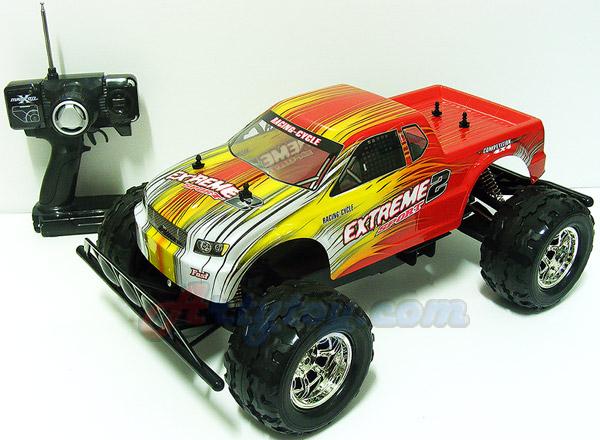 MasterX(ZLPN) รถบิ๊กฟุตขับเคลื่อน 4 ล้อคันใหญ่ Scale 1:8 บอดี้อ่อน โช๊คปีกนก แรงเร็วสวยสุดๆ