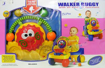 รถผลักเดิน 2in1 Walker Buggy (ZLPN) ปรับเป็นรถนั่งขาไถได้ เหมาะสำหรับคุณหนู 9 เดือนขึ้นไป