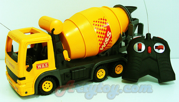 รถโม่ปูน Shop Truck(INB) บังคับวิทยุไร้สาย แบตชาร์ต หมุนโม่ปูนได้เหมือนจริง