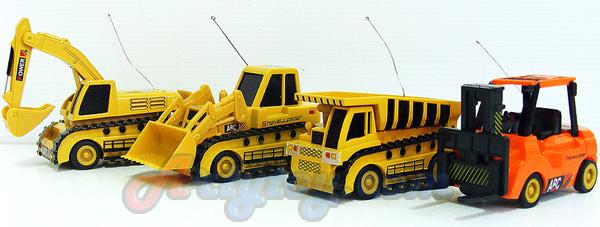 Building Truck Action(UIN)  รถก่อสร้างจิ๋วบังคับวิทยุ มีให้เลือก 4 แบบ  น่ารักน่าสะสม