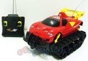 รถบังคับตีนตะขาบ(Amphibious Stunt Machine) (JIN) ลุยได้ทุกสภาพพื้นถนน แบตเตอรี่ชาร์ตไฟบ้าน
