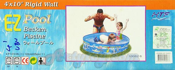 สระน้ำขอบตั้ง EZ Pool (UBN) ขนาด 4 ฟุต  ขนาด 122 cm x 25 cm