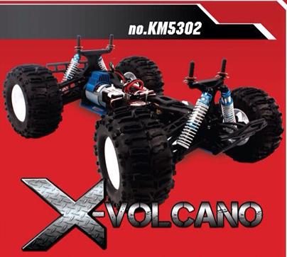 อะไหล่ Kasemoto X-Volcano และชุด UPGRADE