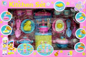 Kitchen Set 2807(FIN) ชุดทำครัว อุปกรณ์เยอะ สามารถเล่นได้เหมือนจริง