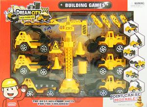 ของเล่นพลาสติกชุดก่อสร้าง Building Game (ZFNB)