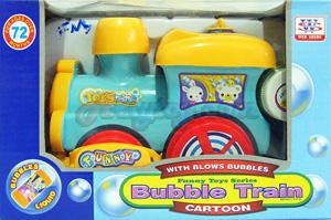 Bubble Train (FNB) ของเล่นรถไฟวิ่งชนถอย  มีไฟ มีเสียง  และมีฟองสบู่เวลาเล่น