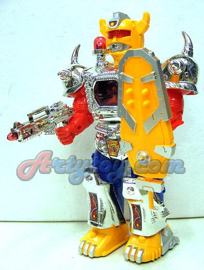 หุ่นยนต์ใส่ถ่าน Beat Magnum Hero (FNB)  มีไฟมีเสียงเวลาเล่น
