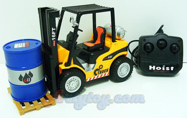 Forklift Truck Scale 1:16 (FTN)  บังคับวิทยุแบบมีสาย  งานสวย  สามารถใช้งายกของได้