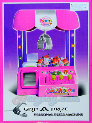 ตู้คีบรางวัล Grab A Prize(ENB)  เป็นตู้คีบที่เหมือนในห้างครับเล่นง่าย  มีไฟ เสียงเวลาเล่น