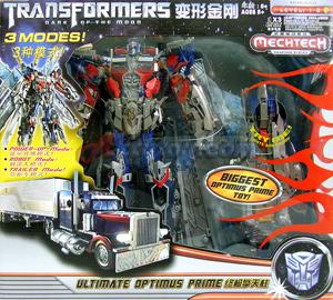 Transformers  Dark of The Moon : Mechtech : Ultimate Optimus Prime