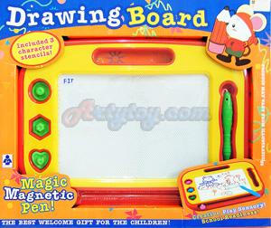 Drawing Board (FIT) กระดานเขียนแม่เหล็ก  สามารถเขียน หรือวาดรูปได้ตามจินตนาการของตุณหนูๆ สามารถลบได้