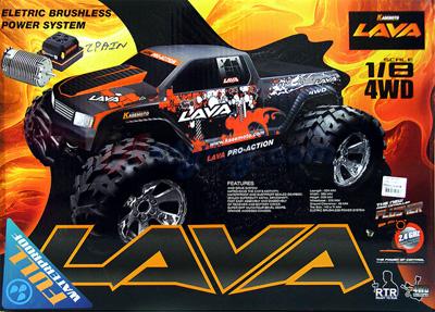 Kasemoto LAVA RTR 1:8 (MPAIN) บิ๊กฟุตล้อโตไฟฟ้าขับเคลื่อน 4WD คันใหญ่สุดๆ ลุยได้สุดมันสะใจ