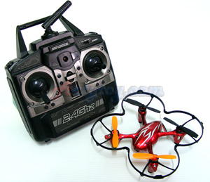 Stunt Sky Hero(FNBN) 4 Channel 6 Axis Gyro Quadcopter 2.4Ghz Ready to Fly พร้อมกล้อง HD