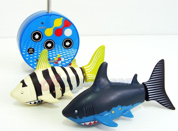 Mini RC Shark (MUIN) ปลาฉลามบังคับวิทยุ  เล่นในน้ำ สามารถว่ายน้ำเล่นได้เหมือนจริง  แปลกใหม่น่าเล่นสุ