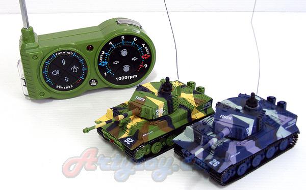 The Armor Corp. (MUPT) รถถังบังคับวิทยุจิ๋ว Scale 1:72 วิ่งสายพานตีนตะขาบ มีไฟมีเสียง