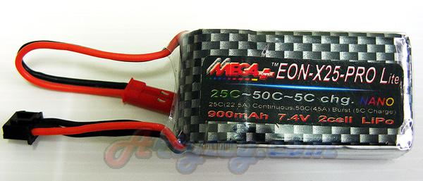 แบตเตอรี่ LIPO 2Cell 7.4V 900mAh(MFPN)