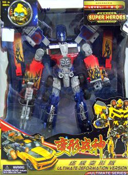 Transformers  Optimus (MUEN) งานสวย มีอาวุธพร้อม แปลงร่างเป็นรถได้
