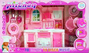 Kitchen Set (FPN) ชุดทำครัว มีไฟมีเสียง อุปกรณ์เยอะ สามารถเล่นได้เหมือนจริง