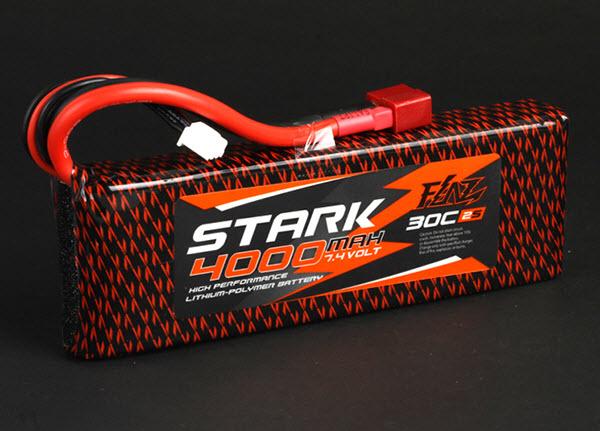 แบต Li-Po STARK 4000mAh 7.4V 30C Softpack