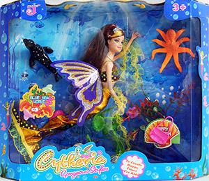 นางเงือก Cytheria(ZFEN) ตุ๊กตาบาร์บี้นางเงือกสุดสวยในทะเลกว้าง พร้อมผองเพื่อนสัตว์ทะเล